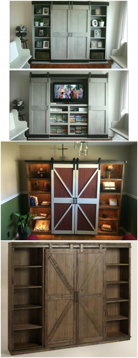 Farmhouse Entertainment Center 55 Gorgeous DIY Farmhouse