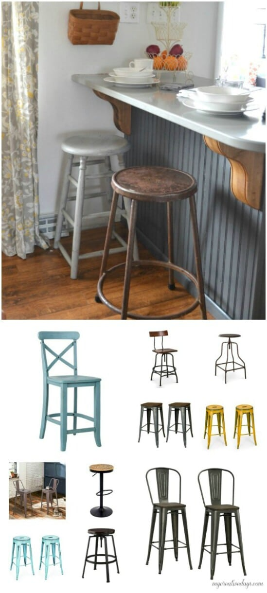 DIY Farmhouse Bar Stools