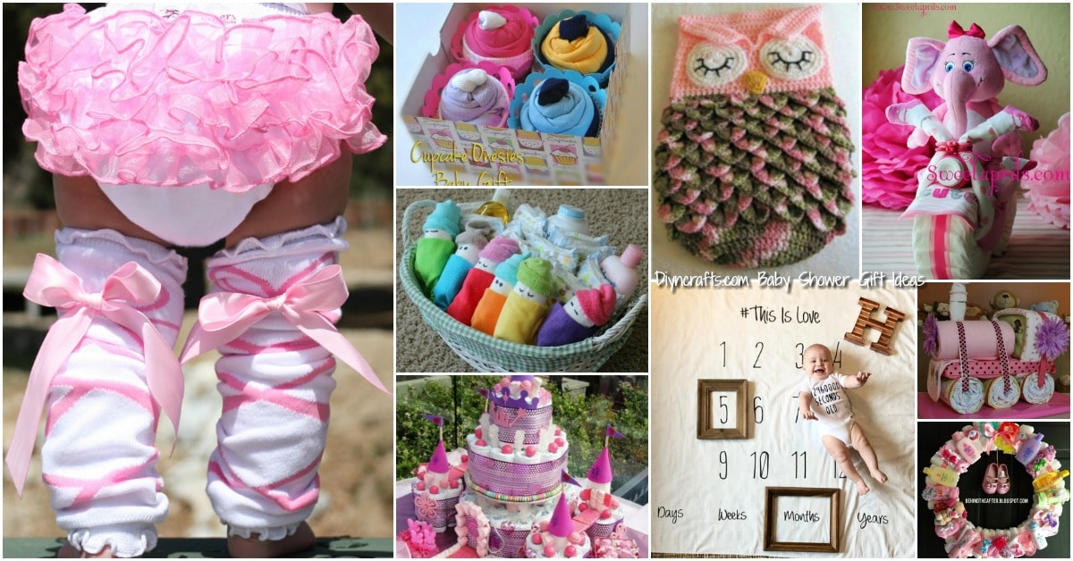 Marvelous 25 Enchantingly Adorable Baby Shower Gift Ideas That Will Make You Go  U201cAwwwww!u201d   DIY U0026 Crafts