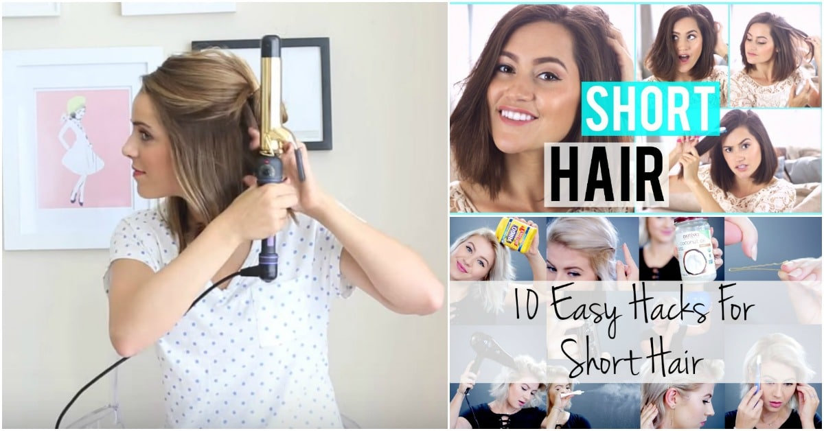 hair styling hacks 25 genius hair hacks that make hair styling a 7083