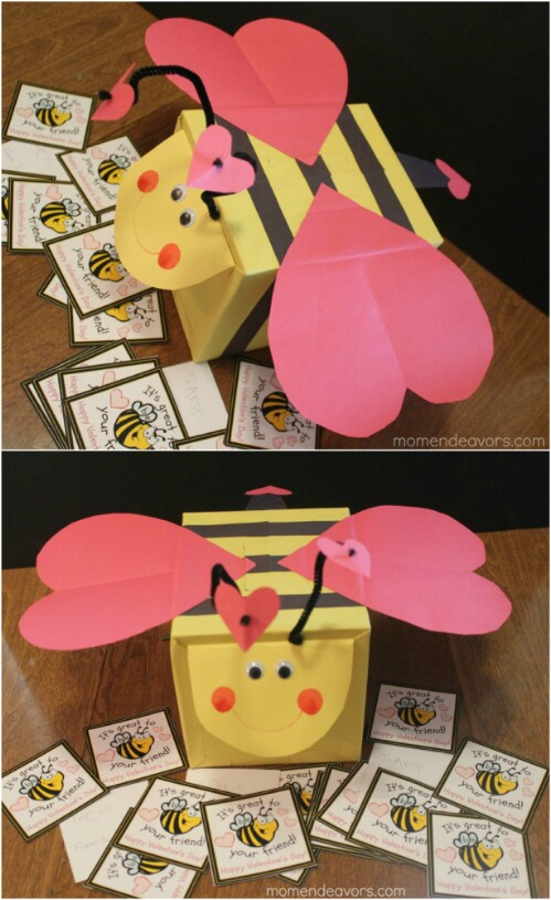 20 Adorable And Easy Diy Valentine S Day Projects For Kids Diy