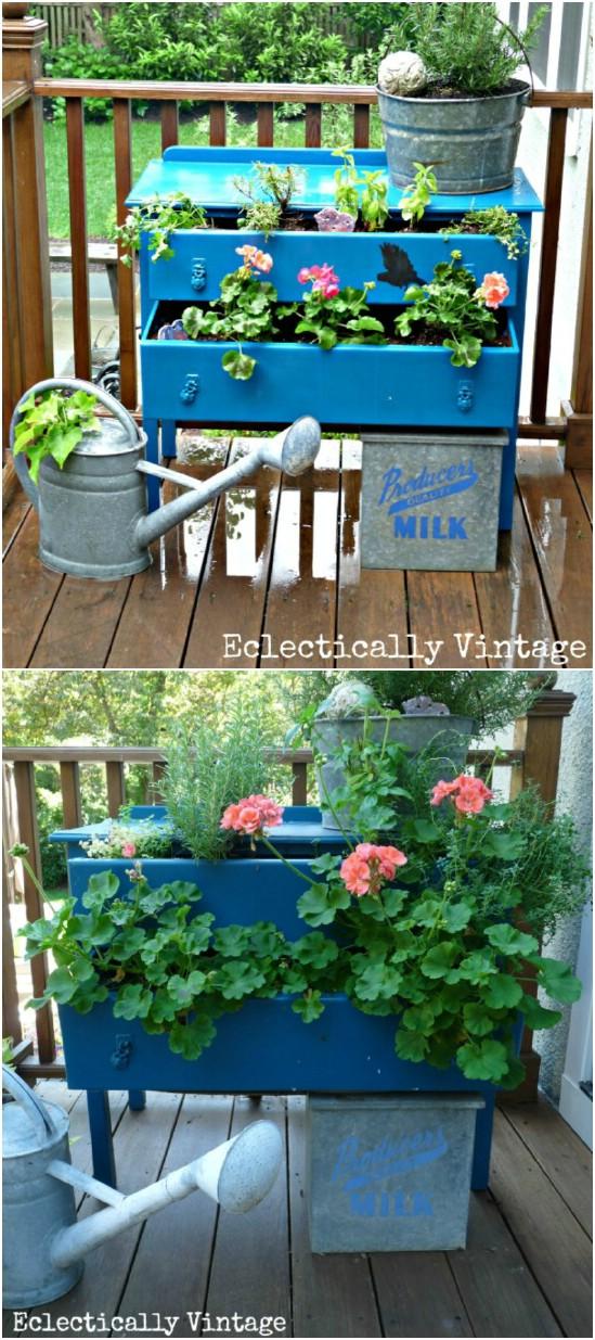 Small Dresser Planter