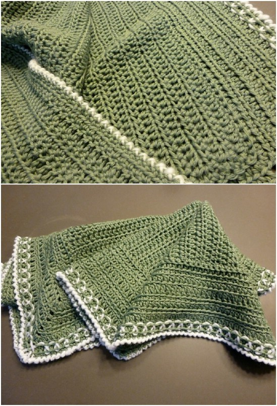 25 Quick And Easy Crochet Blanket Patterns For Beginners - DIY & Crafts