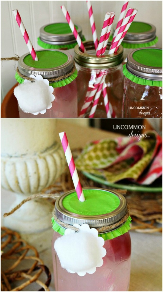 Easter Drinking Jars