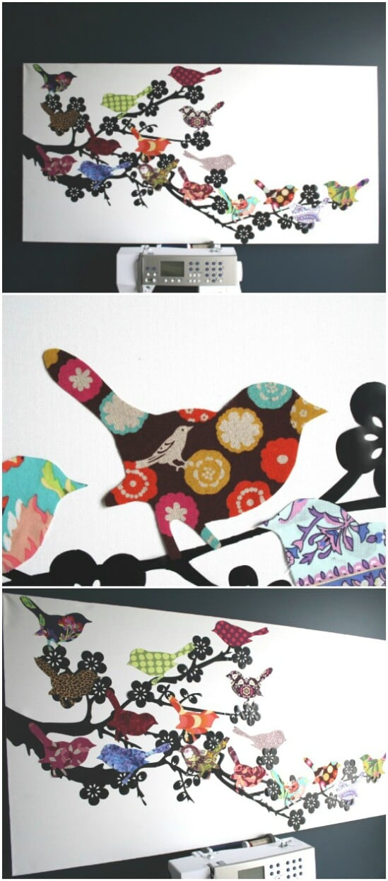 Outgrown Clothing Wall Art - 20 Adorably Creative Upcycling Projects To Repurpose Old Baby Clothes