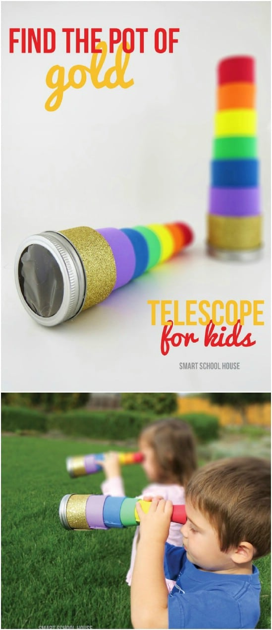 DIY Telescope – For Finding The Pot Of Gold
