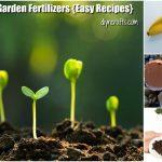 15 Organic DIY Garden Fertilizer Recipes That'll Beautify Your Garden