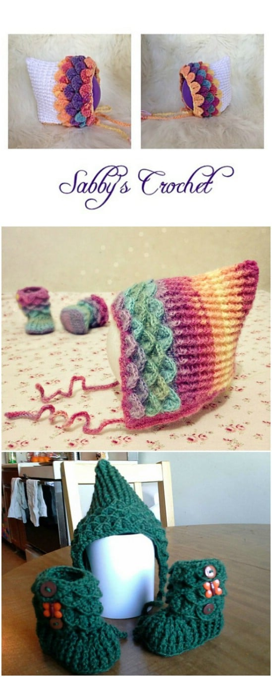 Adorable Pixie Hat And Booties