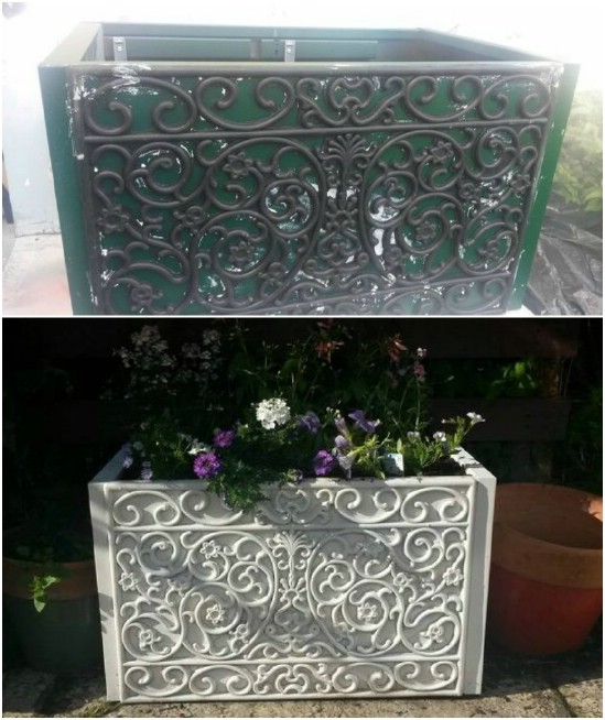 Upcycled Filing Cabinet Planter