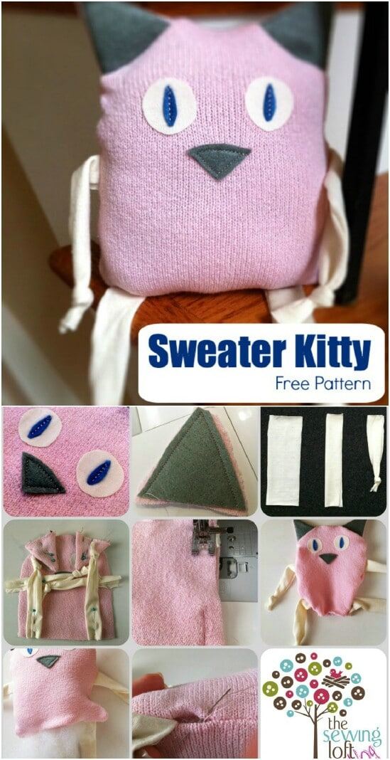 50 amazingly creative upcycling projects for old sweaters Upcycling for beginners