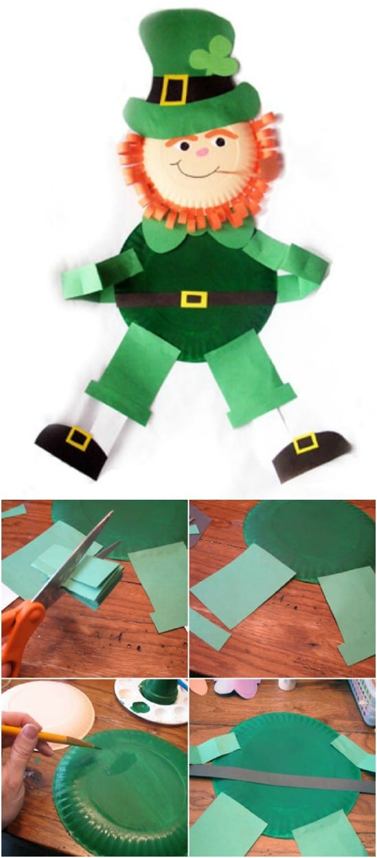 Easy Leprechaun Wall Hanging