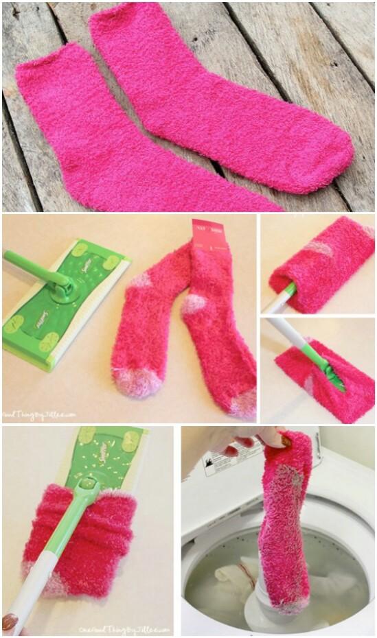Sock Swiffer Pads