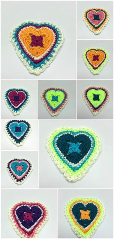 Granny Heart DIY