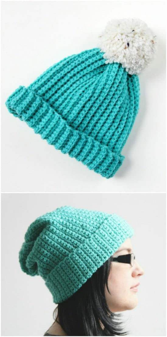 Easy Crocheted Hats – Two Ways