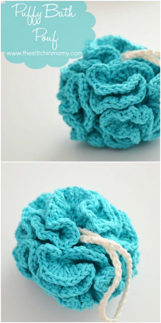 Crocheted Bath Pouf