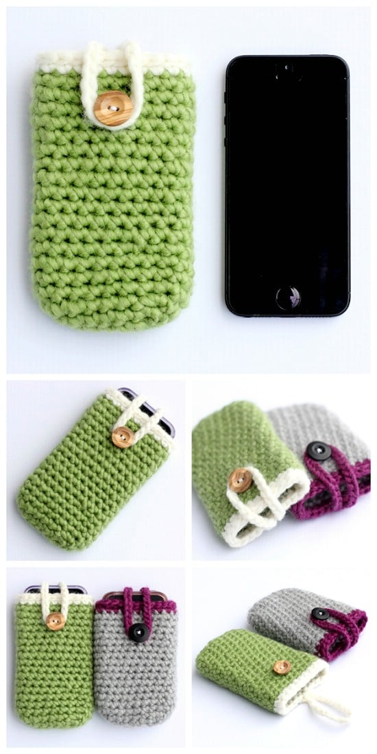 Crocheted iPhone Case