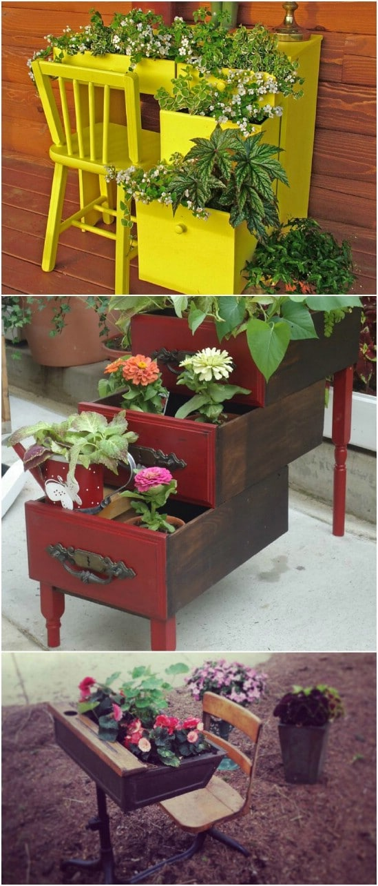 20 Brilliantly Creative Ways To Incorporate Old Furniture