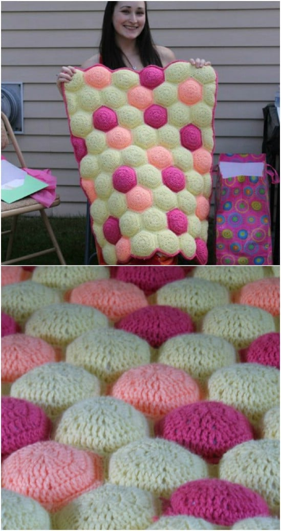 25 Quick And Easy Crochet Blanket Patterns For Beginners Diy Crafts