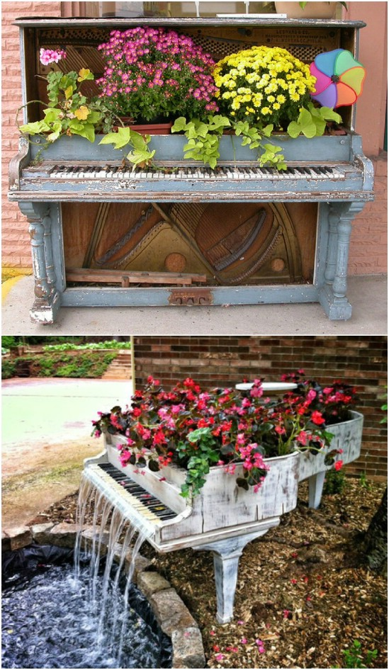 Baby Grand Water Planter