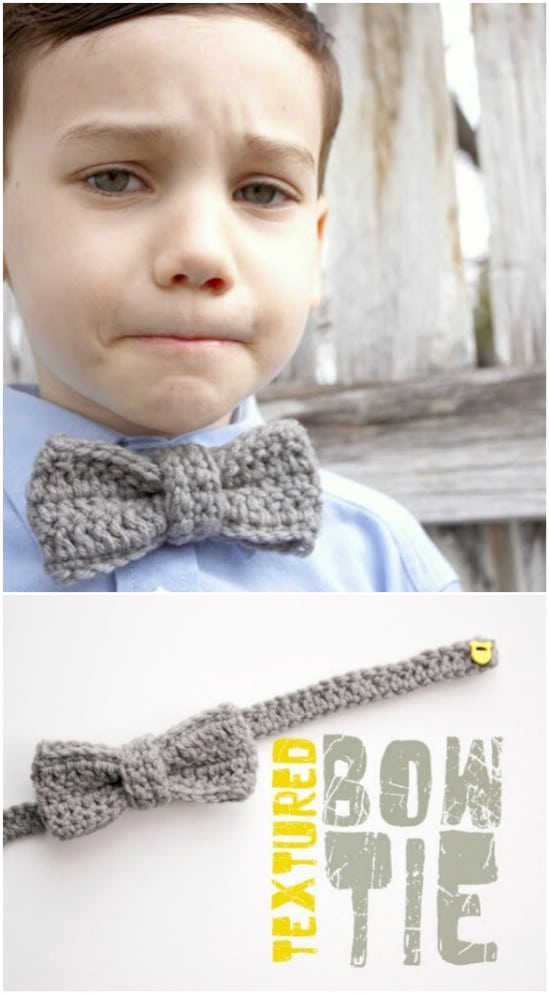 Textured Bow Tie