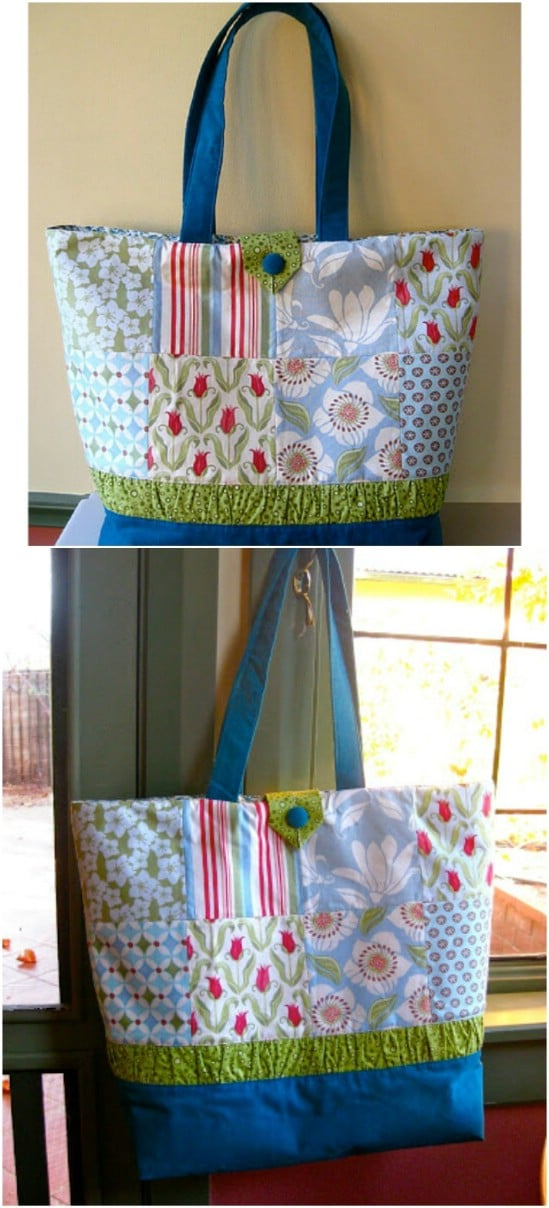 6dd39da95b 60 Gorgeous DIY Tote Bags With Free Patterns For Every Occasion ...