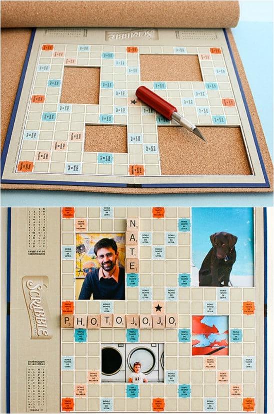 Scrabble Board Picture Frame