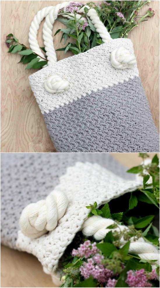Suzette Crocheted Bag