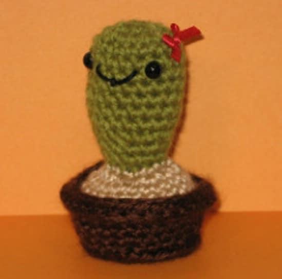 Whimsical Cactus Pin Cushion