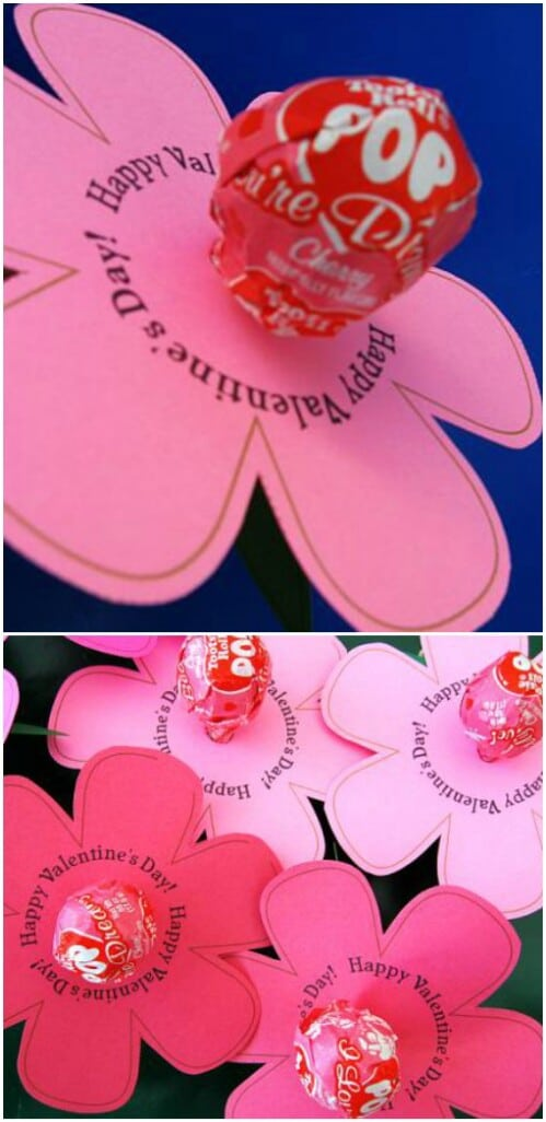 Lollipop Lily   20 Adorable And Easy DIY Valentineu0027s Day Projects For Kids