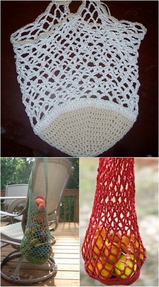 Beginner Crochet Market Bag