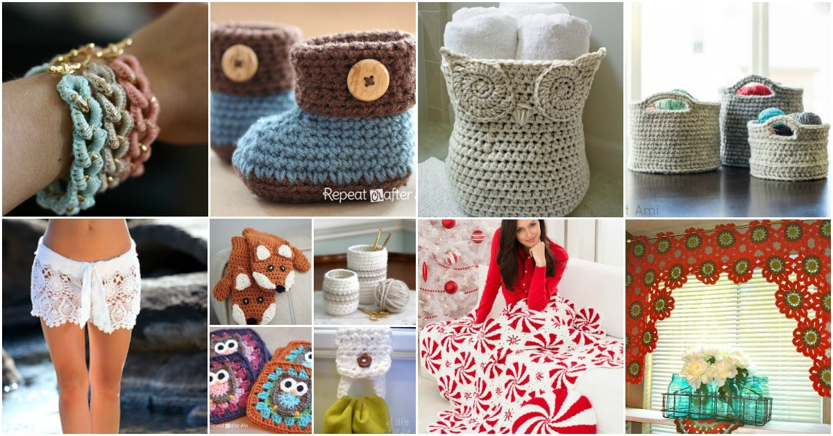 40 Free Crochet Patterns That Are Perfect For Beginners DIY Crafts Extraordinary Crochet Patterns