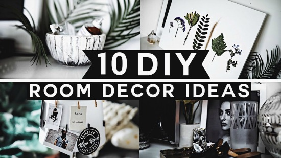 10 Simple DIY Decor Projects Will Give Your House a Cool, Contemporary Vibe {Video tutorial}