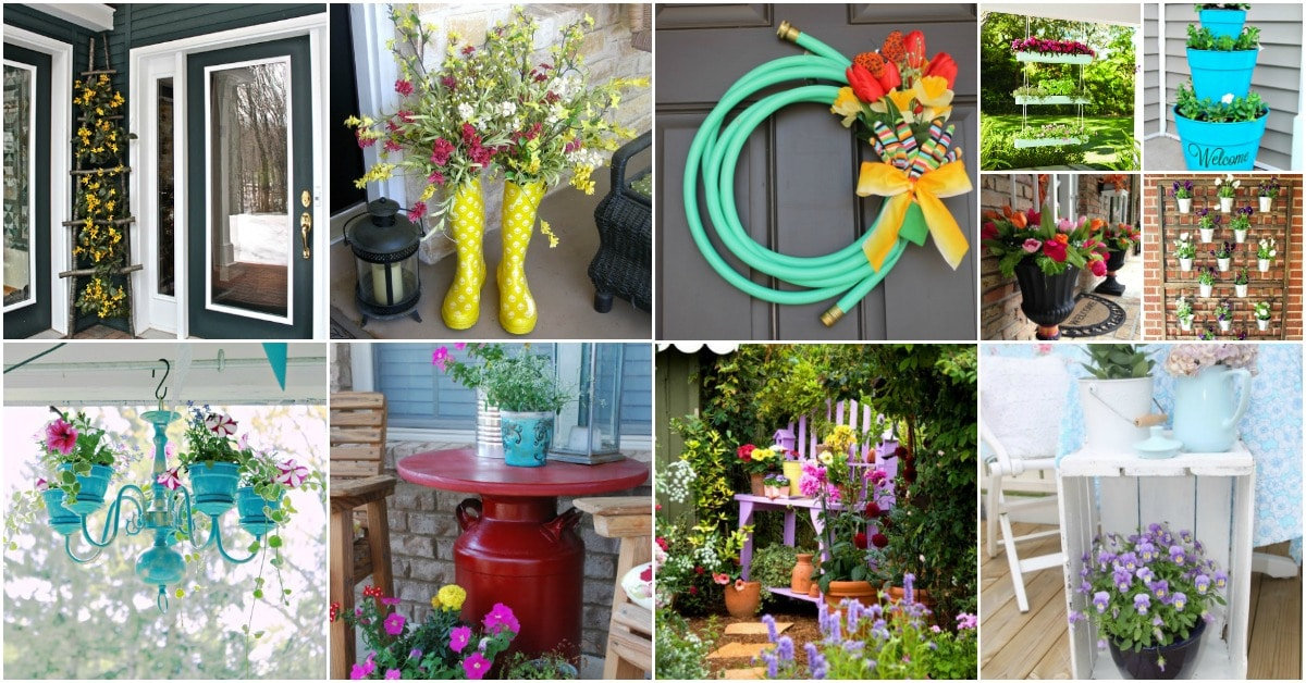 25 creative diy spring porch decorating ideas it s all about repurposing diy crafts - Outdoor decorating ideas ...