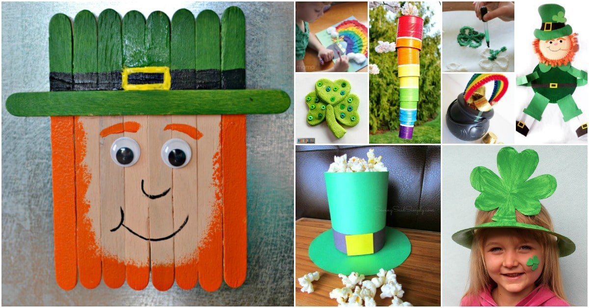 Irish St Patrick S Day Crafts For Adults