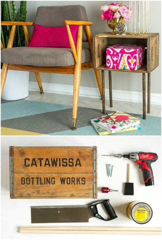 Big Wooden Crate Ideas