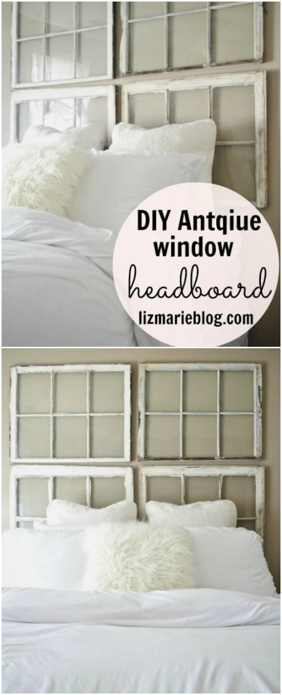 antique window ideas old diy antique window headboard 40 simple yet sensational repurposing projects for old windows