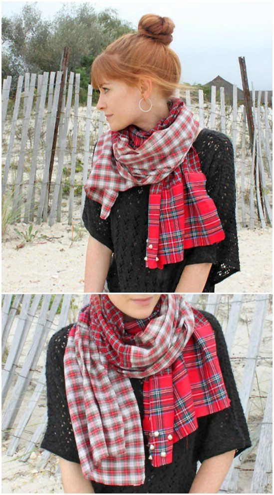 Soft And Cozy Flannel Scarf