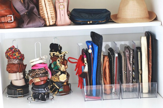 Easy DIY Purse Storage