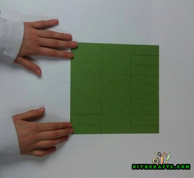 Βήμα 1 - εδώ είναι το πώς να κάνει ένα όμορφο Πάσχα καλάθι ... Από χαρτί!
