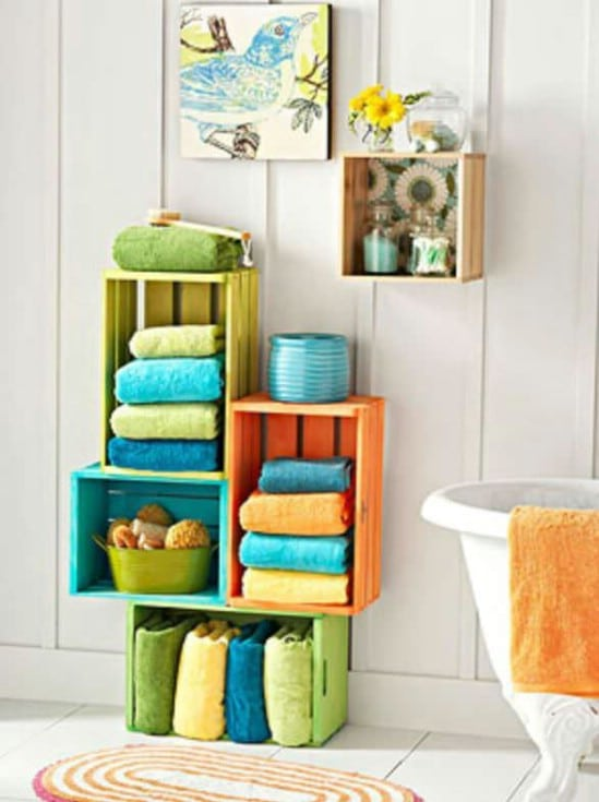25 Wood Crate Upcycling Projects For Fabulous Home Decor Page 2 Of 2 Diy Crafts