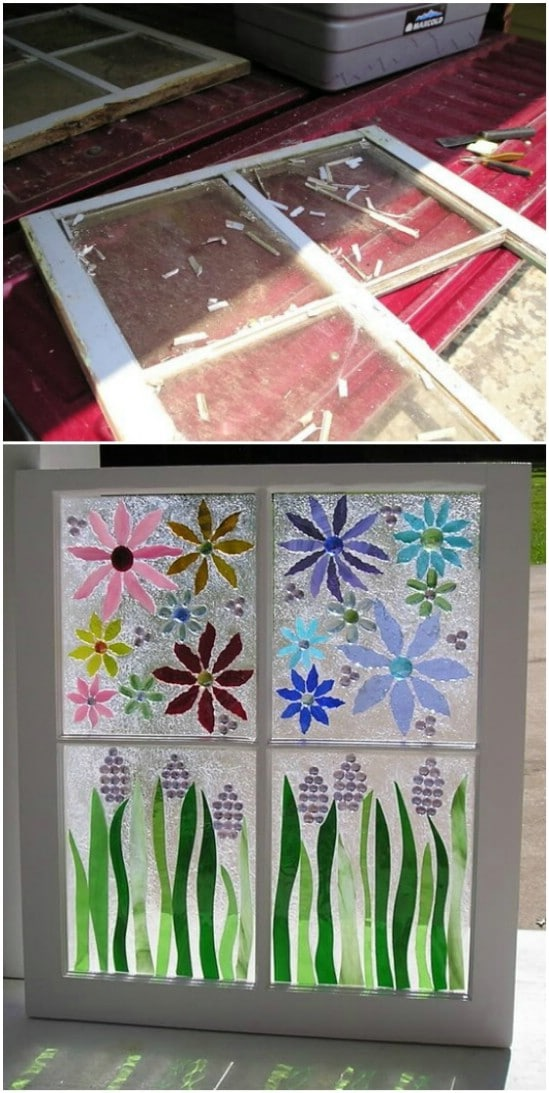 DIY Stained Glass Artwork