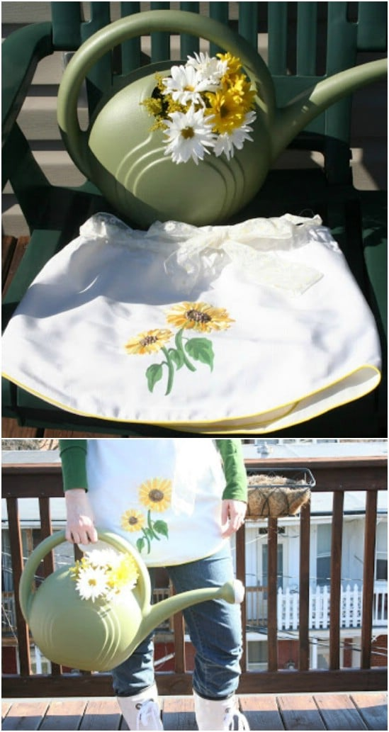 Apron From Old Curtains