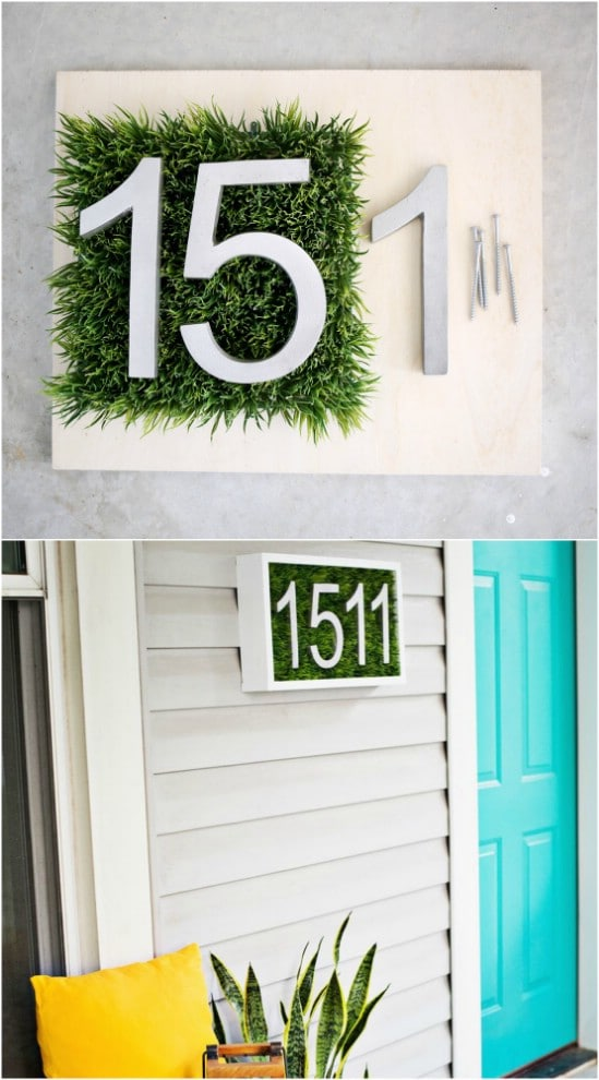 DIY Living Number Display
