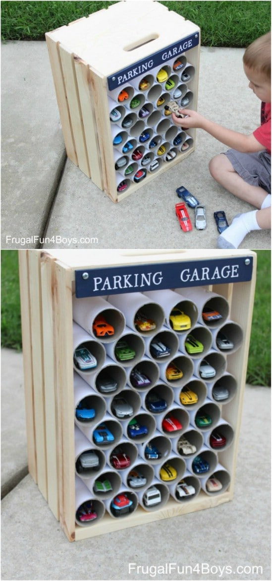 Wood Crate Upcycling Projects For Fabulous Home Decor