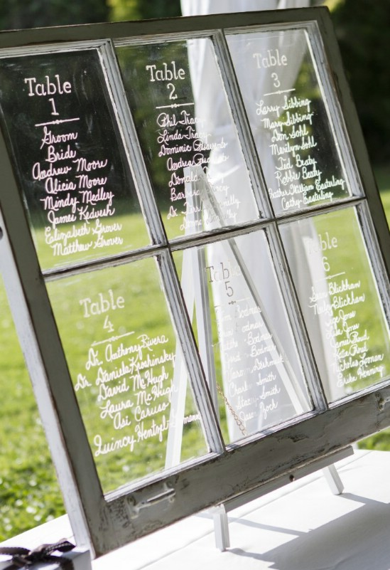 Unique Wedding Seating Chart