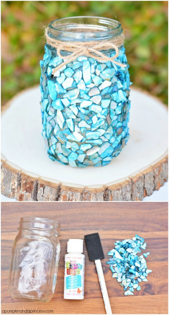 Seashell Jars