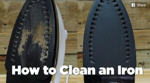 Keep Your Iron Clean