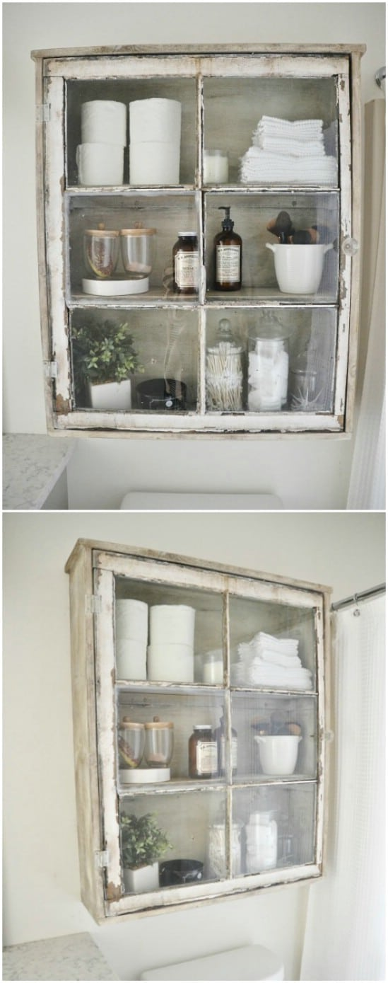 40 Simple Yet Sensational Repurposing Projects For Old Windows ...