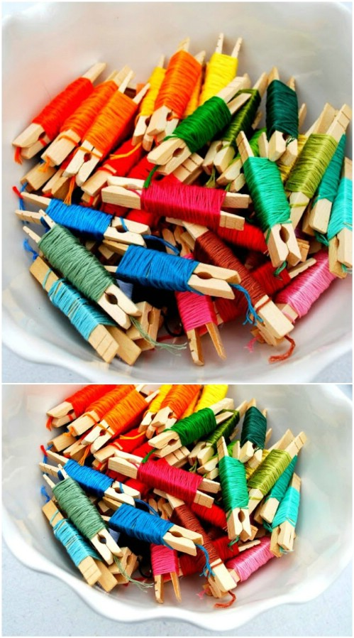 Organize Your Embroidery Floss