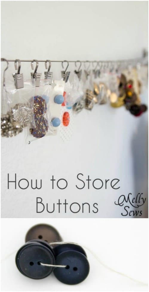 Neatly Store Buttons
